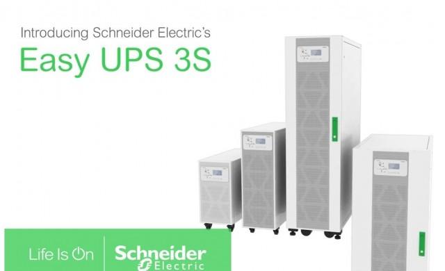Schneider Electric представя Easy UPS 3S