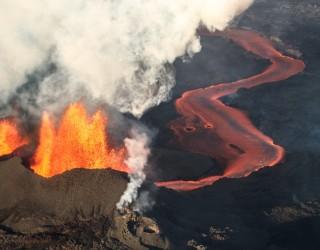 Вулканът на остров Ла Палма е образувал нов кратер