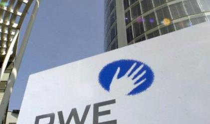 Печалбата на RWE се понижи с 48% през Q3