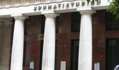 Нервност и спад на акциите на фондовата борса в Атина