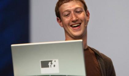 Акциите на Facebook поскъпват до 9.5 млрд. долара
