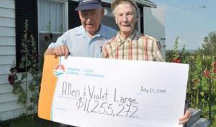 Канадци спечелиха 11 млн. от лотарията, отказват се