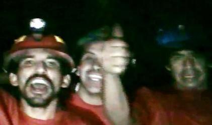 Чилийските миньори на гастрол в Холивуд