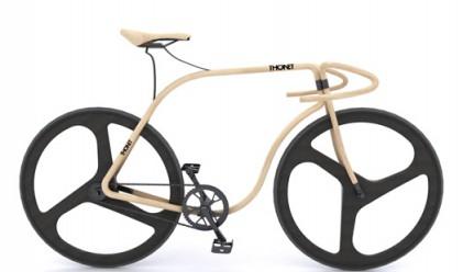 Създават велосипед от бук