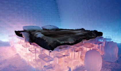 Най-красивите ледени хотели