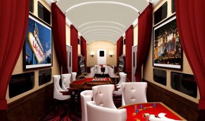 Пускат луксозен купонджийски влак между Лос Анджелис и Лас Вегас