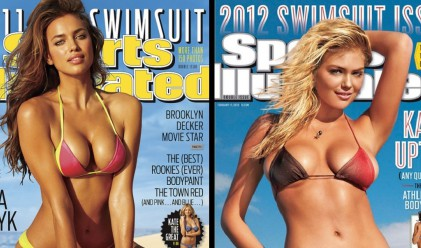 Топ 10 горещи модели на бански на кориците на Sports Illustrated