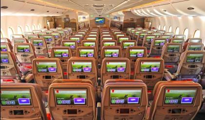 Този самолет разполага с рекорден брой седалки