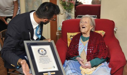Коя е единствената храна, която похапва най-старата жена в света?