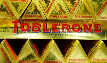 Промяна на формата на Toblerone разгневи феновете