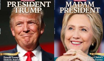 """""""Госпожо президент"""": Как Newsweek пусна грешния брой"""