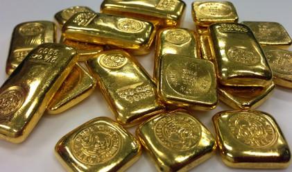 Цената на златото се задържа около вчерашните нива