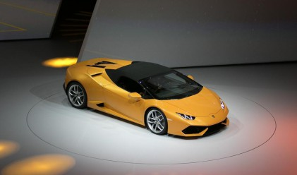 Представиха Lamborghini Huracan Spyder