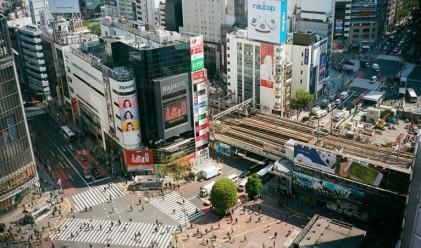 Това е най-натовареното кръстовище за пешеходци в света
