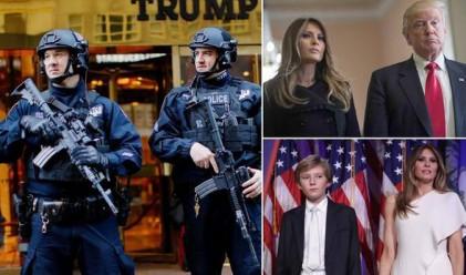 Охраната на Мелания Тръмп и сина й ще струва солено на Ню Йорк
