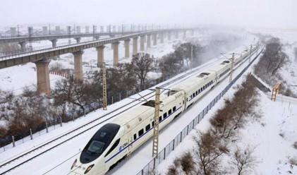Само в Китай: студоустойчиви експресни влакове със спални вагони