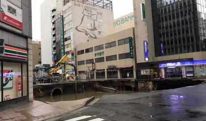 30-метровата японска дупка отново се отвори, кметът се извини