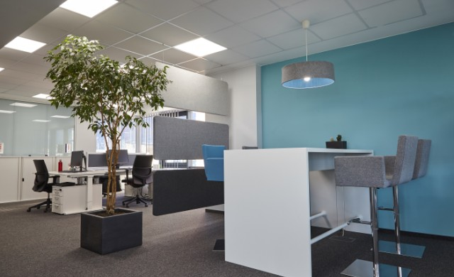 Новият офис на Бош в София предлага вдъхновяващи условия на труд