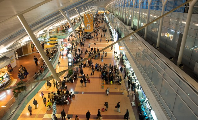 Най – натоварените летища в света