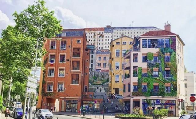 Добре дошли в града с най-удивителните фасади