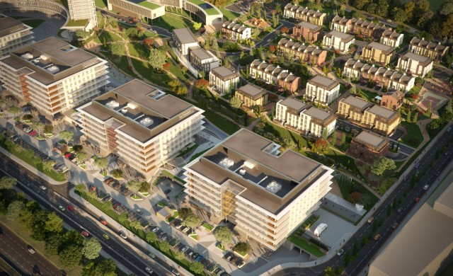 Под 20% са непродадените жилища в най-големия имотен проект у нас