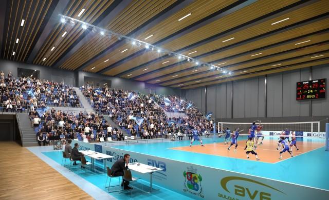 Вижте къде ще се намира новата модерна спортна зала у нас