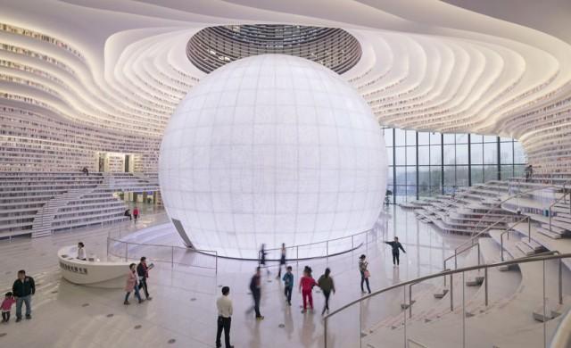 Тази удивителна библиотека може да побере 1.2 млн. книги