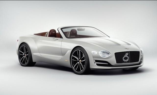 В Bentley започнаха работа над своя първи електромобил
