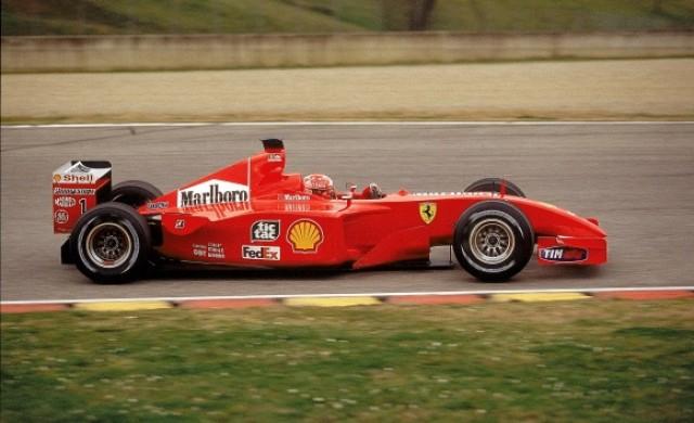 Продадоха автомобил на Шумахер за рекордна сума