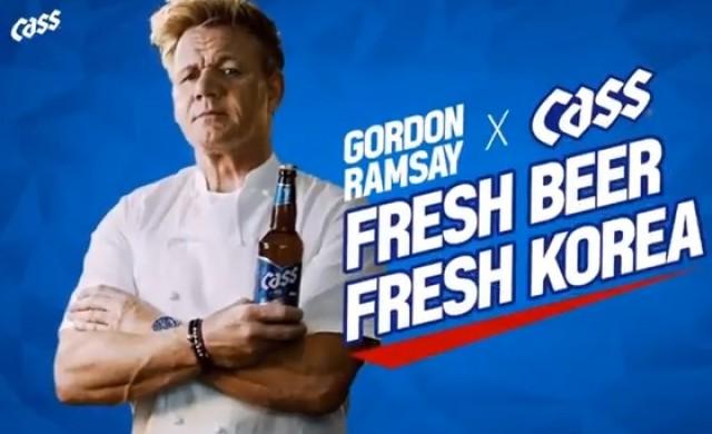 Гордън Рамзи сътвори собствен кошмар в кухнята с реклама на бира