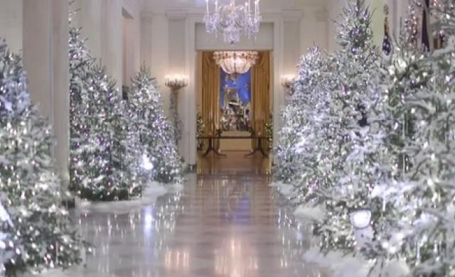 Мелания Тръмп показа коледната украса на Белия дом