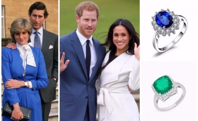 7 годежни пръстена на кралското семейство