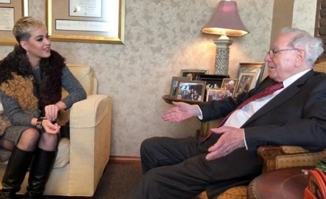 Нищо важно: Просто Кейти Пери и Уорън Бъфет обсъждат биткойн