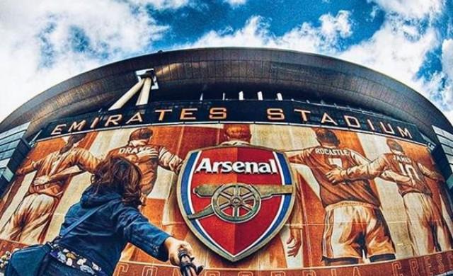 Арсенал инсталира голяма батерия на стадиона си в Лондон
