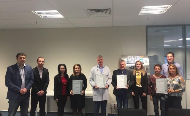 BHTC България с два сертификата за най-високи стандарти