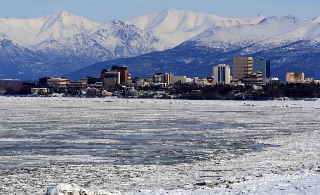 Аляска с 2 рекорда в 1 ден: за най-топло време и най-много сняг
