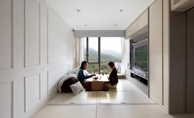 Японското жилище с площ 45 кв. метра, което си има всичко