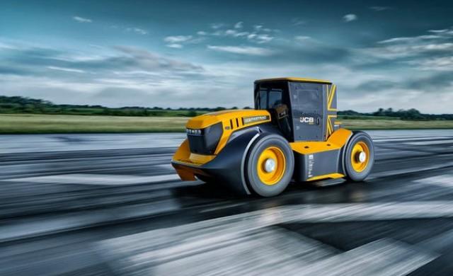 Това е най-бързият трактор в светa