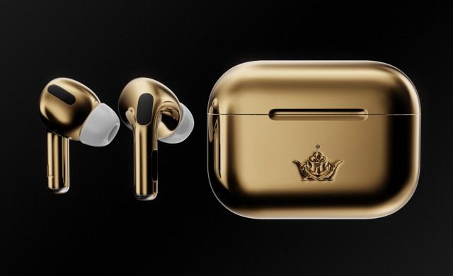 Тези позлатени слушалки AirPods Pro струват 67 000 долара