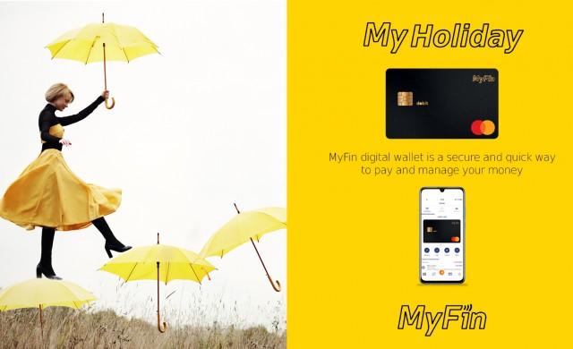 Дигиталният портфейл MyFin стартира с подкрепата на Fibank и Mastercard