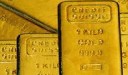 Златото възвърна нивата от 800 долара за тройунция