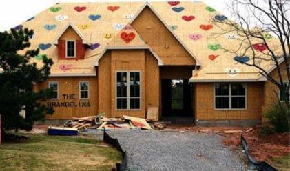 Построиха къща в чест на Джоли и Пит