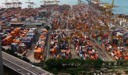Търговският дефицит на САЩ неочаквано се свива