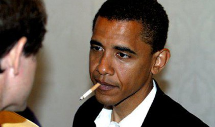 Обама отказва цигарите