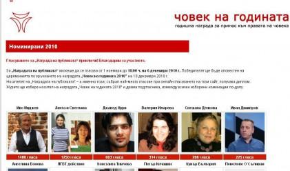 Адвокат Даниела Доковска е Човек на 2010 година