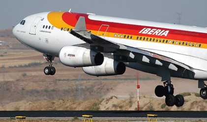 Испанската Iberia отмени над 90 полета заради стачка