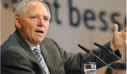 Шойбле изключва крах на финансовите пазари през 2012 г.