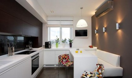 12 трика, за да направите малката кухня голяма