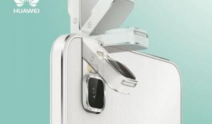Huawei ще представи смартфон с въртяща се камера