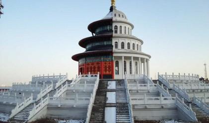 Най-новата китайска реплика на световна сграда е твърде странна